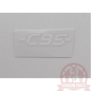 WHITE CBS STICKER 05503J80R200