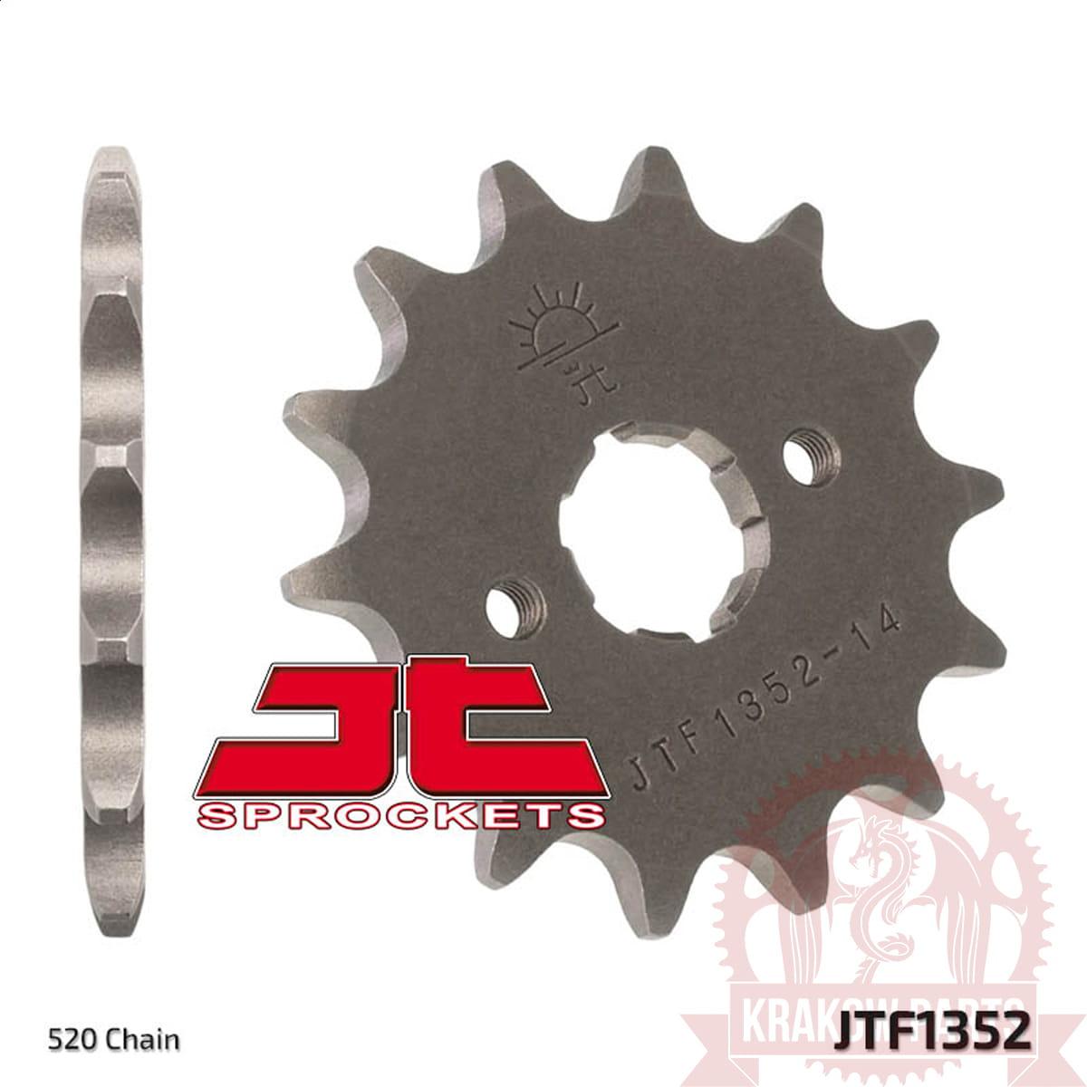 JTF1441.14SC 14T~ Self-Cleaning Steel Front Sprocket JT Sprockets